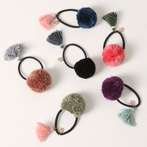 Lock charm tassel hairband